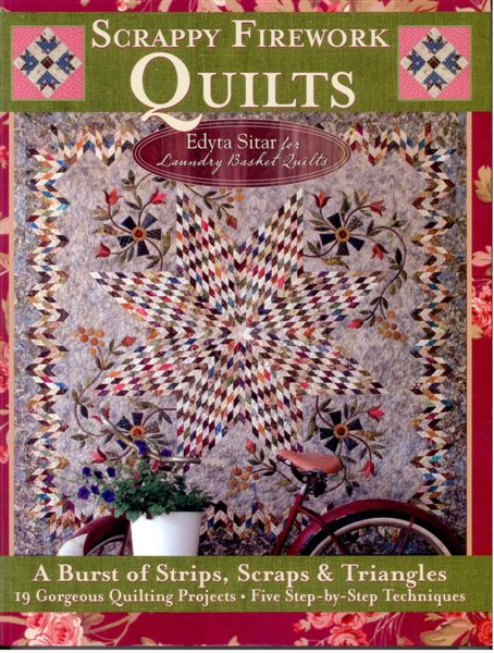 Scrappy Fireworks Quilts By Edyta Sitar For Laundry Basket
