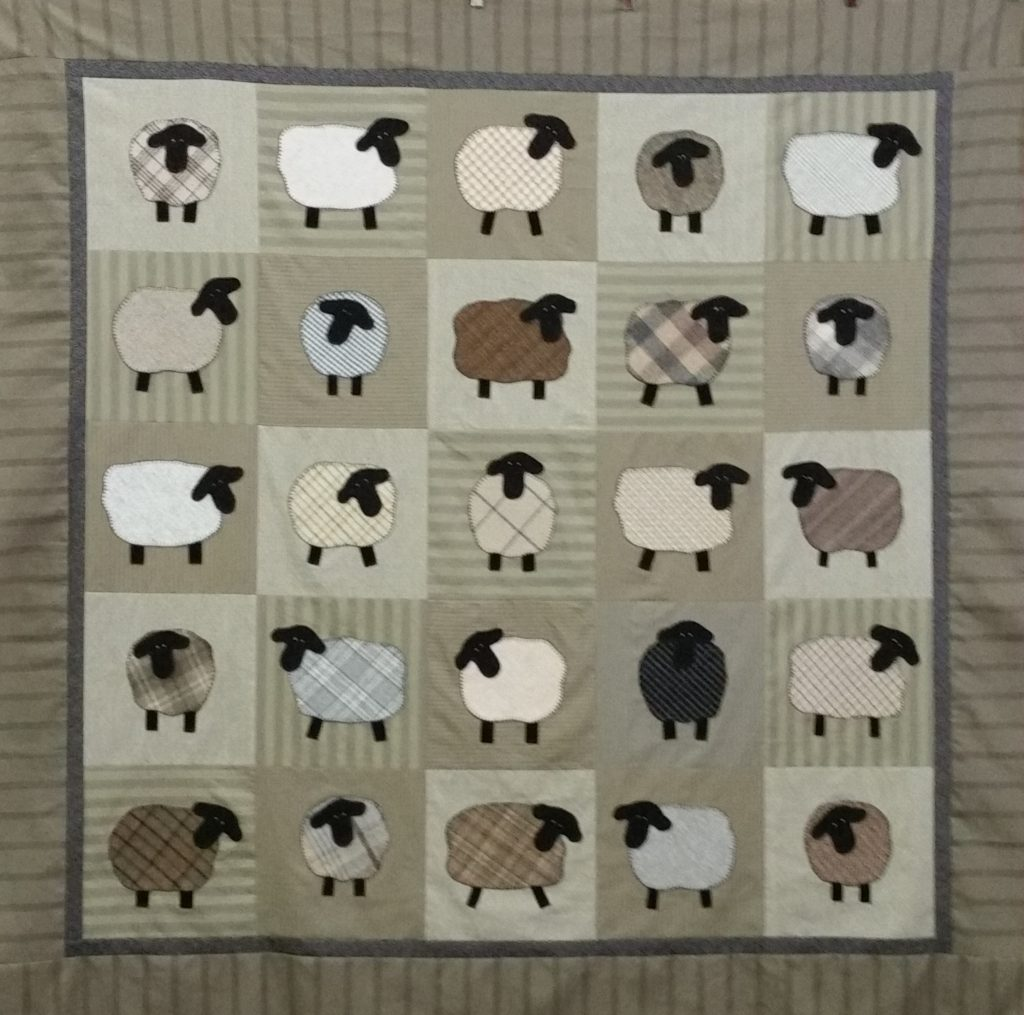 Counting Sheep The Woolen Needle