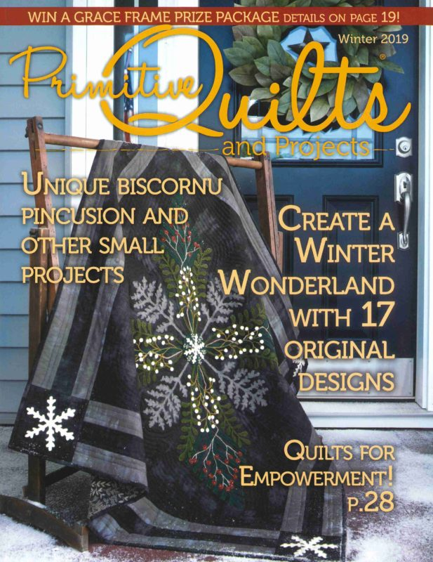 Primitive Quilts and Projects Winter